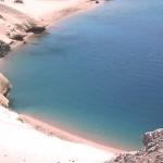 Vacanziero - Egitto - El Quiser - la baia degli squali vista dall'alto