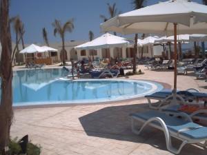 Vacanziero - Egitto - El Quiser - la piscina del villaggio