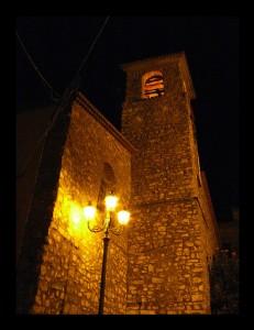 Omignano Chiesa San Nicola Sera